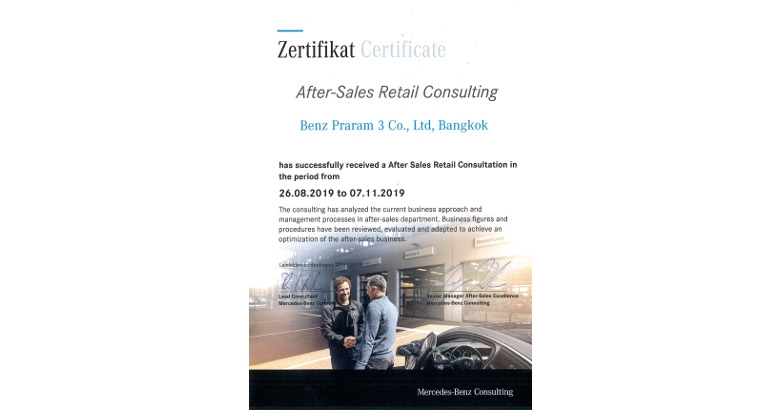 After-Sales Retail Consulting